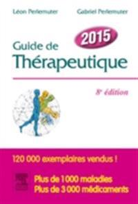 Guide de therapeutique 2015