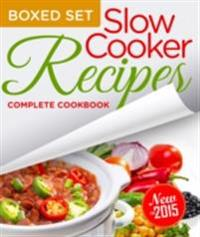 Slow Cooker Recipes Complete Cookbook (Boxed Set)