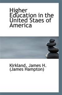 Higher Education in the United Staes of America