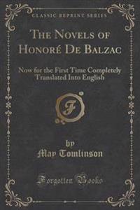 The Novels of Honore de Balzac