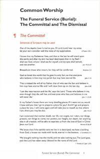 Commital Card