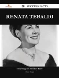 Renata Tebaldi 85 Success Facts - Everything you need to know about Renata Tebaldi