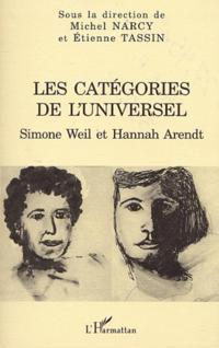 LES CATEGORIES DE L'UNIVERSEL