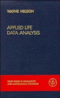 Applied Life Data Analysis