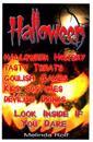 Halloween: Tasty Treats, Goulish Games, Kids Costumes, Devilish Drinks; Look Inside If You Dare!