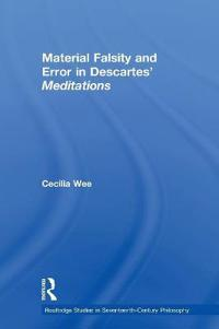 Material Falsity and Error in Descartes' Meditations