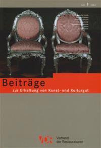 Vdr-Beitrage Zur Erhaltung Von Kunst- Und Kulturgut: Heft 1/2008