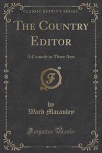 The Country Editor
