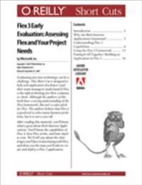 Flex 3 Early Evaluation: Assessing Flex and Your Project Needs