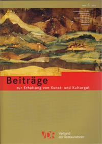 Vdr-Beitrage Zur Erhaltung Von Kunst- Und Kulturgut, Heft 1/2014: Heft 1/2014