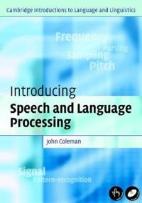 Introducing Speech and Language Processing