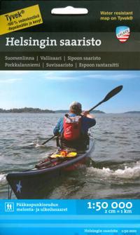 Helsingin Saaristo Vesistokartta 1 50 000 Kirjat Kartta