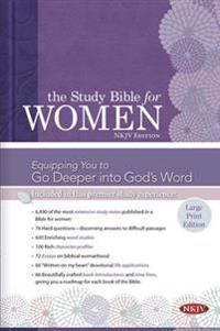 Study Bible for Women-NKJV-Large Print