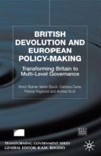 British Devolution and European Policy-Making