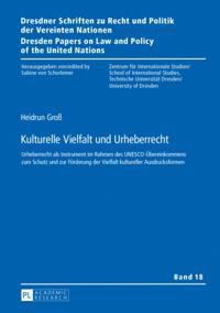 Kulturelle Vielfalt und Urheberrecht