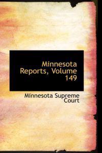 Minnesota Reports, Volume 149
