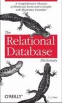 Relational Database Dictionary, Extended Edition
