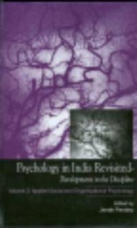 Psychology in India Revisited - Developments in the Discipline, Volume 3