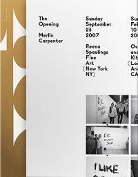 Merlin Carpenter - the Opening