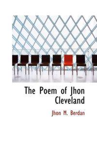 The Poem of Jhon Cleveland