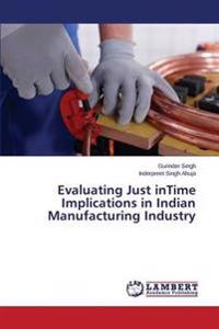 Evaluating Just Intime Implications in Indian Manufacturing Industry