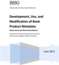 Development, Use, and Modification of Book Product Metadata