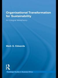 Organizational Transformation for Sustainability