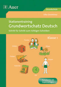 Stationentraining Grundwortschatz Deutsch 1