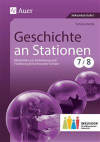 Geschichte an Stationen 7-8 Inklusion