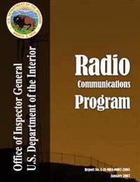 Audit Report: Radio Communications Program, January 2007