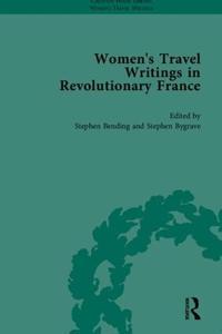 Women's Travel Writings In Revolutionary France