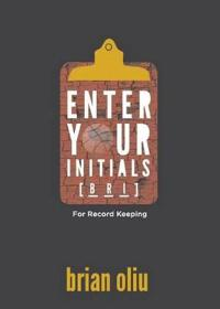 Enter Your Initials for Record Keeping