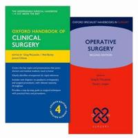 Oxford Handbook of Clinical Surgery + Handbook of Operative Surgery, 2nd Ed.
