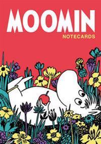 Moomin Notecards in a Wallet