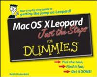 Mac OS X Leopard Just the Steps For Dummies