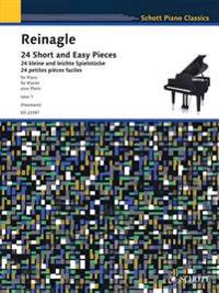 24 Short and Easy Pieces for Piano, Op. 1