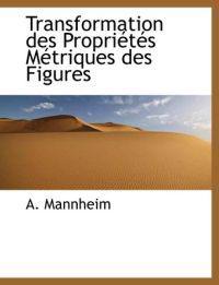 Transformation Des Propri T?'s S Triques Des Figures