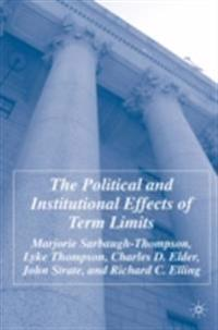 Political and Institutional Effects of Term Limits
