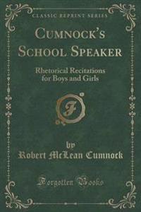 Cumnock's School Speaker
