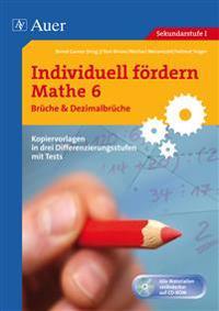 Individuell fördern Mathe 6 Brüche