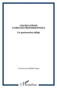 Les relations familles-professionnels