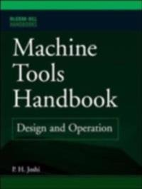 Machine Tools Handbook