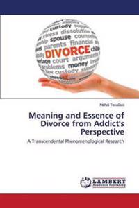 Meaning and Essence of Divorce from Addict's Perspective