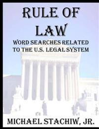 Rule of Law: Word Searches Related to the U.S. Legal System
