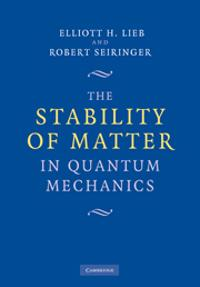 Stability of Matter in Quantum Mechanics