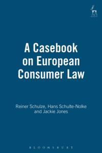 Casebook on European Consumer Law