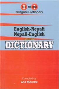 English-Nepali & Nepali-English One-to-One Dictionary. Script & Roman (Exam-Suitable)