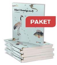 Djur i Sverige A-Ö Paket 10 ex