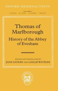 Thomas of Marlborough: History of the Abbey of Evesham