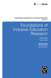 Foundations of Inclusive Education Research
